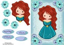 Beautiful Turquoise Queen
