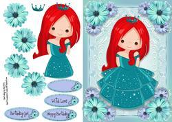 Beautiful Turquoise Princess