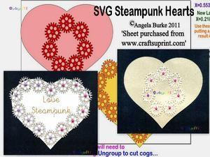Steampunk 10 Hearts