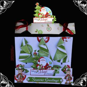 3D Cracker and Spring - Out Christmas Tree Kit