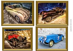 Clasic Vintage Car Toppers