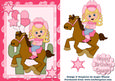 Cowgirl Blonde Card 2