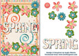 Spring Flowers Greeting Card 2