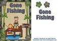 Gone Fishing Daughter and Son Blonde