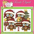 North Pole Owl Clipart
