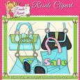 Hand Bag Fun Clipart 2