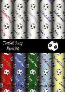 Football Crazy Paper Kit