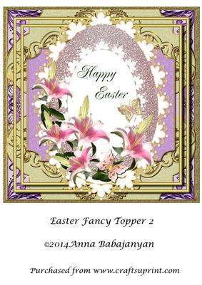 Easter Fancy Topper 2
