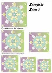 Snowflake Sheet 8