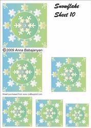 Snowflake Sheet 10