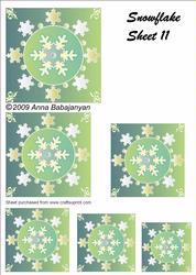 Snowflake Sheet 11