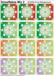 Snowflakes Mix 2