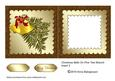Christmas Bells on Pine Tree Branch Insert 3