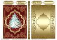 Magic Christmas Card Front/ Topper & Insert 3