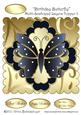 Birthday Butterfly Multi-scalloped Layers Topper 3