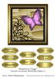 Imaginary Voyage Various Occasions Butterfly Topper 5