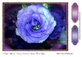 Purple Affection Various Occasions Large Floral Topper