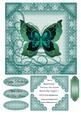 New Beginning Various Occasions Butterfly Topper 1