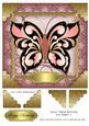 Grace Black Butterfly 8x8 Topper 3