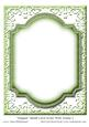 Elegant Blank Card Front with Frame 5