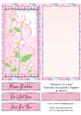 Flowers So Cute Various Occasions Topper & Insert