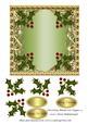Christmas Blank 6x6 Topper 4