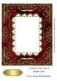 Framed with Swirls Blank Card 1