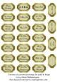 Various Occasion Greetings in Gold & Beige