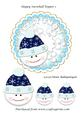 Happy Snowball Topper 1