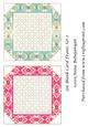 5in Blank Card Fronts Set 2
