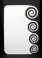 Decorative Edge Card 8, Swirl Edge -studio
