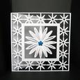 Daisy Square 6 x 6 Inch Card - Studio