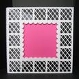 6 x 6 Latticed Box-frame Card - Studio