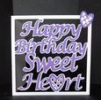 Happy Birthday Sweetheart - PDF