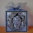 Lions Head Vinyl Design - GSD