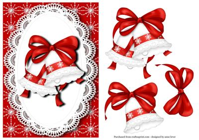 Red & White Christmas Bells