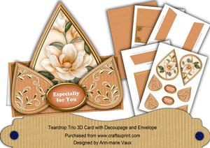 Borange Magnolia Especially for You Teardrop Trio Kit
