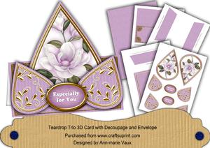 Lilac Magnolia Especially for You Teardrop Trio Kit