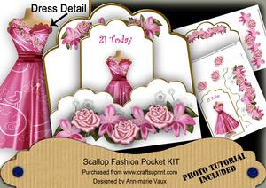 Cerise Bird 21 Today Ink Saver Fashion Tag Mini Kit