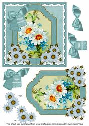 Daisies Happy Anniversary 6in Floral Step by Step