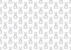 Easter Bunny Boy Backing Paper