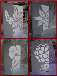 Over the Edge Flower Set - SVG