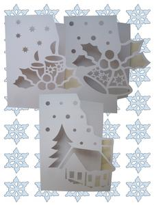 Over the Edge Christmas Set - SVG