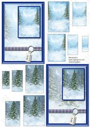Dreaming of a White Christmas 1, with Cardfronts