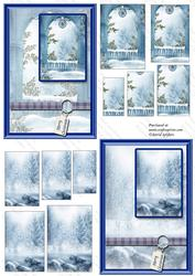 Dreaming of a White Christmas 4, with Cardfronts