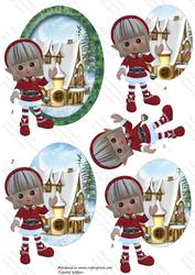 Christmas Elves 1, Decostacker