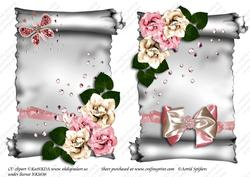 Elegant Scroll A5 Toppers 003