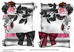 Elegant Scroll A5 Toppers 004