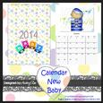 Calendar 2014 Baby Boy