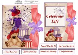 Celebrate Life Quick Topper and Insert